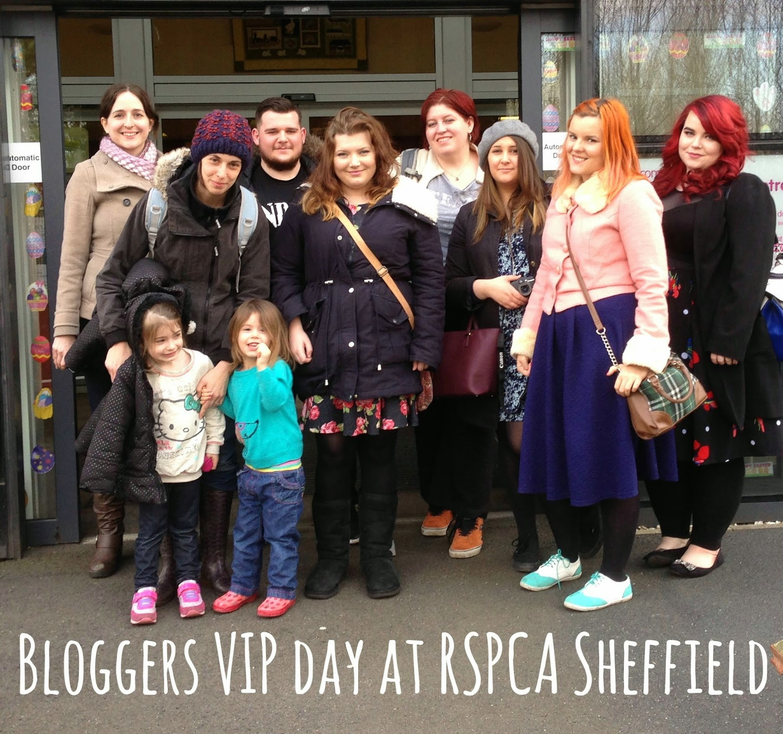 Bloggers VIP day at RSPCA Sheffield