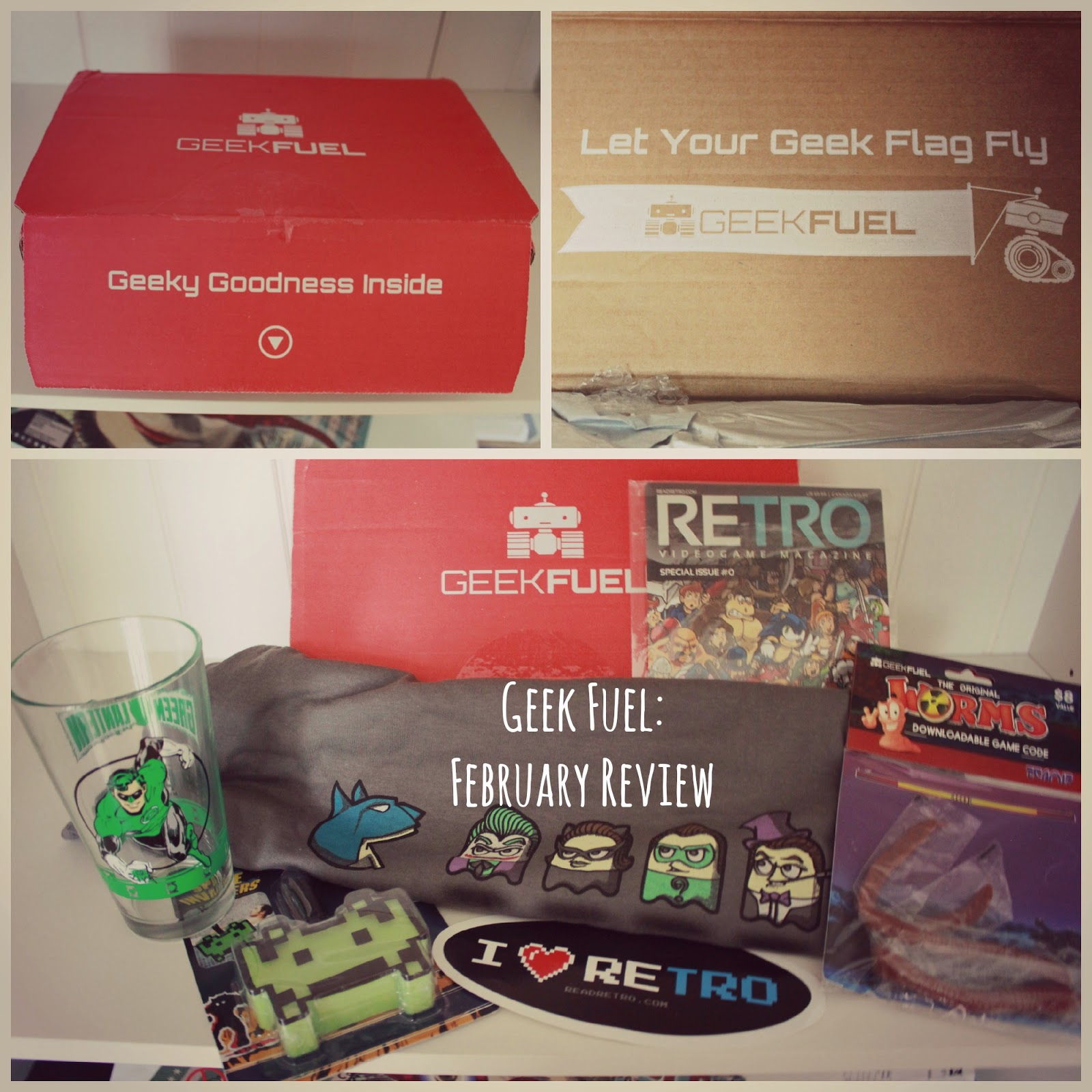 Geek Fuel Subscription Box: Retro Edition