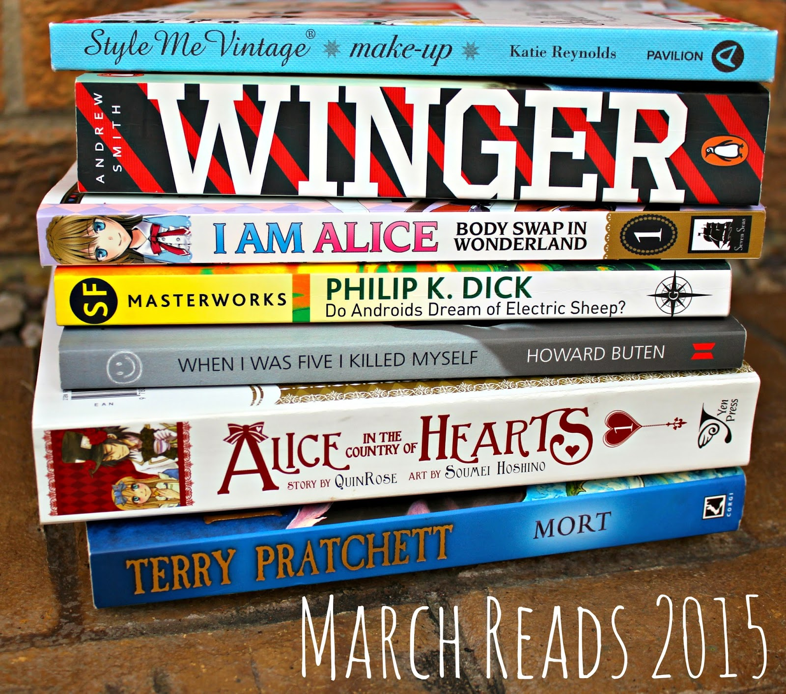 March Reads 2015