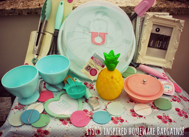 1950's inspired homeware bargains for under £5!