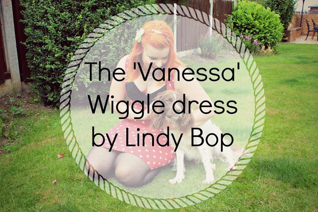 The 'Vanessa' Wiggle dress by Lindy Bop