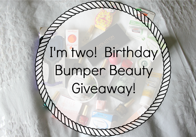 I'm Two! Birthday Bumper Beauty Giveaway! Worth over £90!