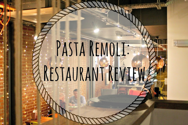 Pasta Remoli: Resturant Review