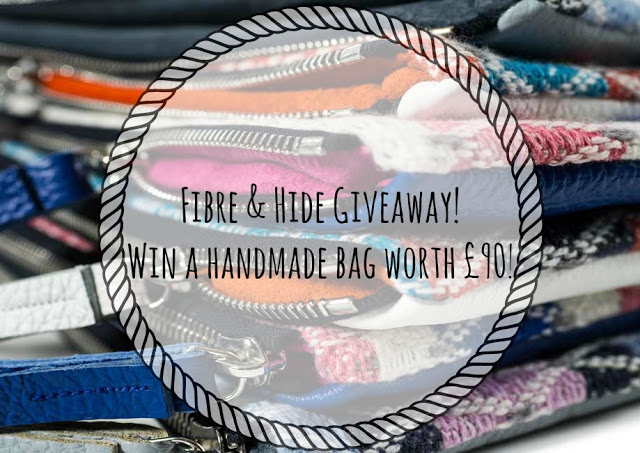 Fibre & Hide Giveaway! Win a handmade bag worth £90!