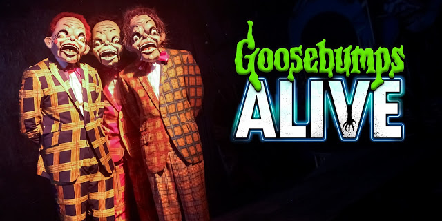 Goosebumps Alive: Review and Backstage Tour