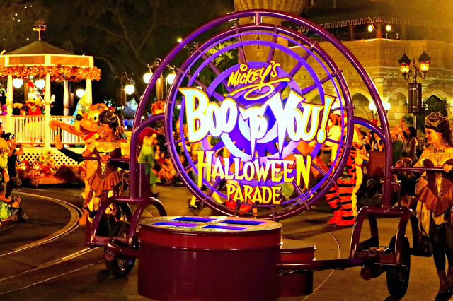 boo to you halloween parade at Mickey's Not so Scary Halloween Party
