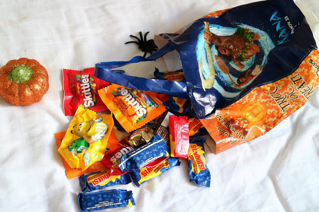 Mickey's Not so Scary Halloween Party candy bag