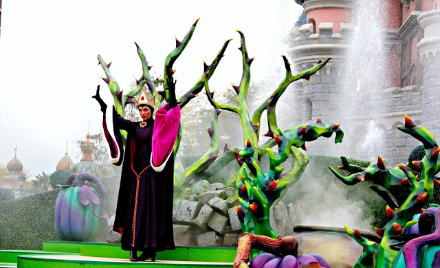 Villain show during Halloween at Disneyland Paris