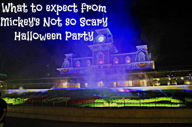 Mickey's not so scary Halloween party guide