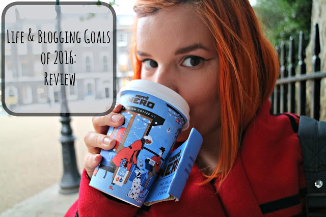 Life & Blogging Goals of 2016: In Review