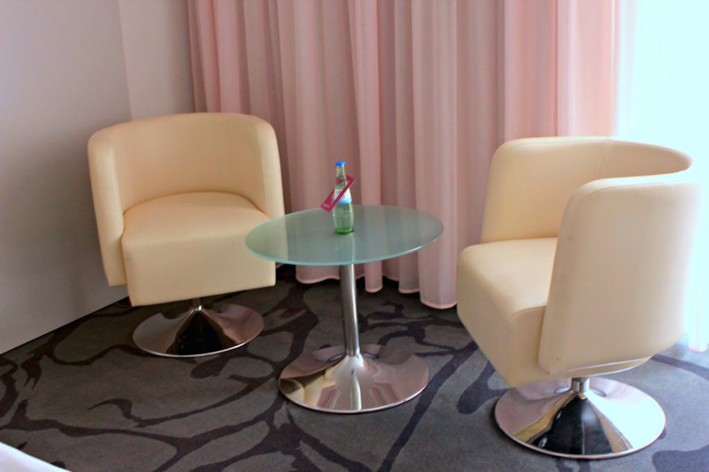 seating area inside the room
