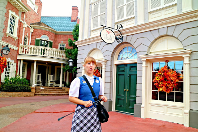 Our guide on the Marceline to Magic Kingdom tour
