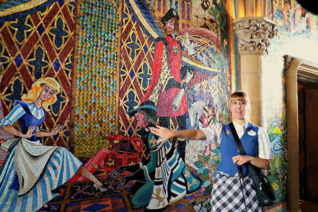Our Marceline to Magic Kingdom guide inside Cinderella's castle