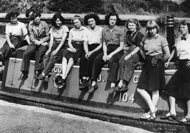 The Idle Women of Wartime Waterways at The Cruising Association