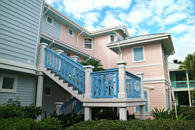 pastel building's in the Old Key West Resort