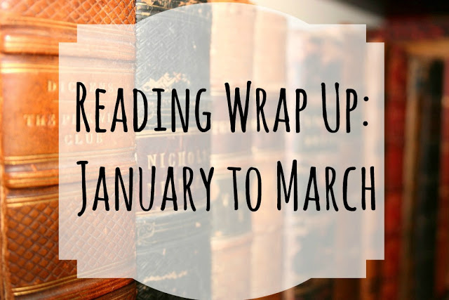 Reading Wrap Up: January to March