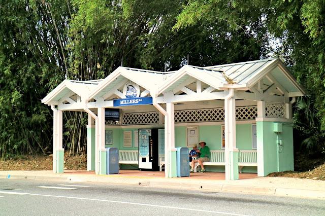 Old Key West Resort bus stop