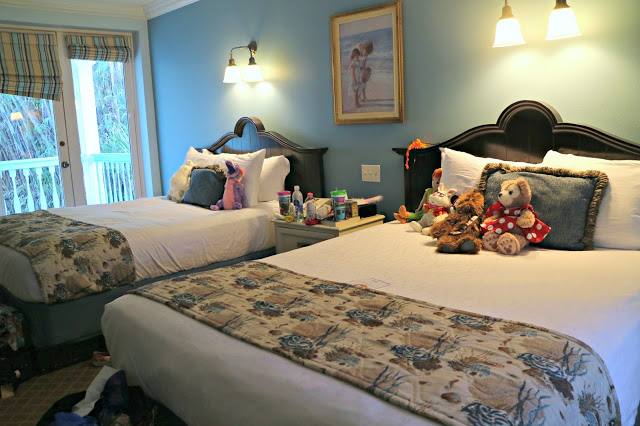 interior of a double room in the Old Key West Resort