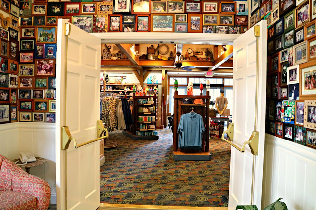 Interior of the shop in Old Key West Resort