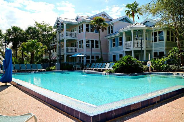 a pool in Old Key West Resort
