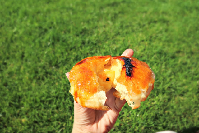 the filled donut is one of the recommended Glasgow Cheap Eats