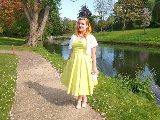 They Call Me Mellow Yellow: Wedding Outfit