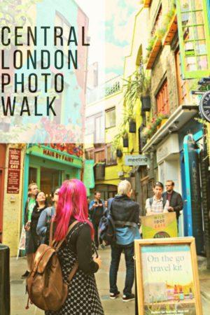 Central London Photo Walk pinterest pin