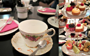 Brigit's Bakery afternoon tea collage