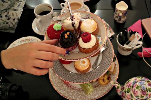 Brigit's Bakery afternoon tea