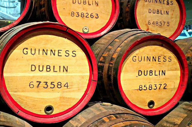 Guinness storehouse barrels