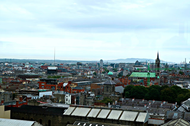 View of the city when spending 72 Hours in Dublin