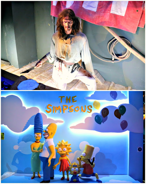 Viking and Simpsons wax works