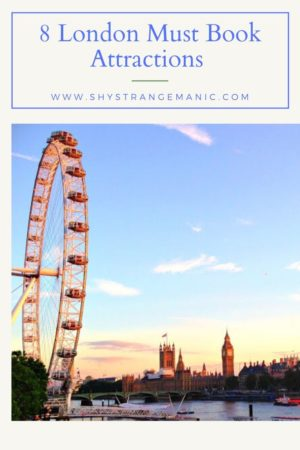 8 London Must Book Attractions Pinterest Pins