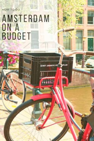 Amsterdam on a Budget Pinterest Pin