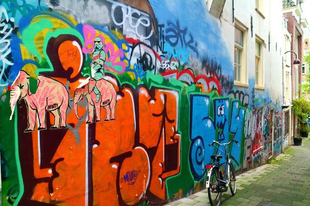 street art of Amsterdam