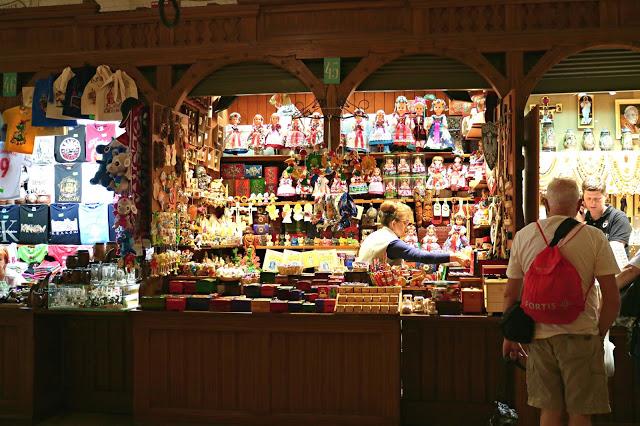 Krakow indoor market