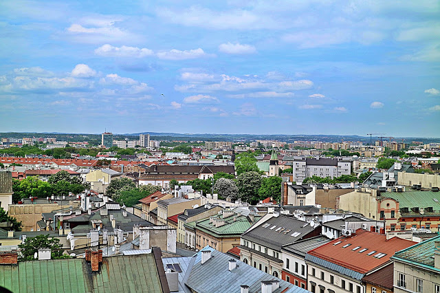 View of Krakow from the tower, a must see when seeing Krakow in a Day