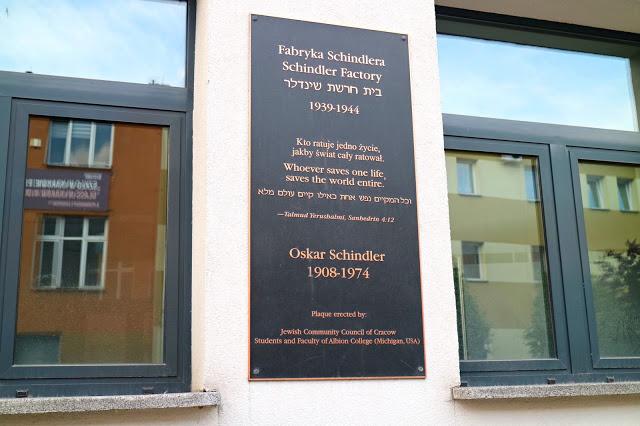 Exterior of Schindler's factory