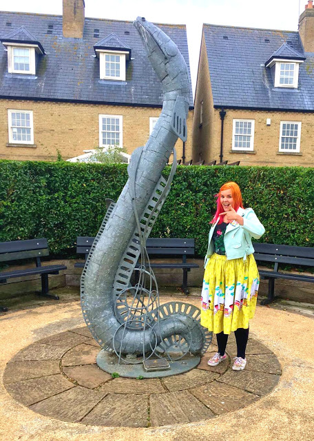 Kariss with the Eel of Ely