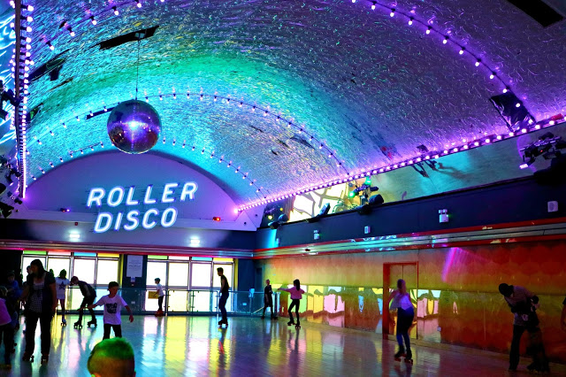 Rollar Disco in Margate in the Travel Roundup