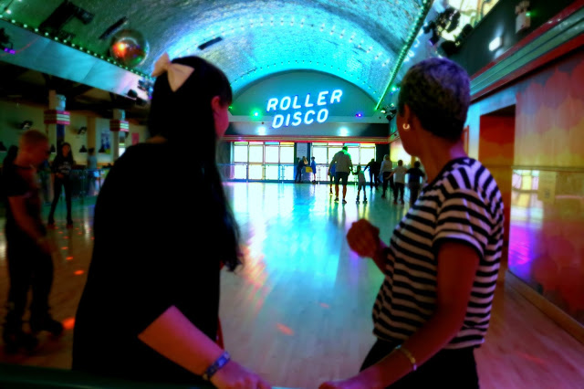 The Indoor roller disco when visiting Margate in a Day