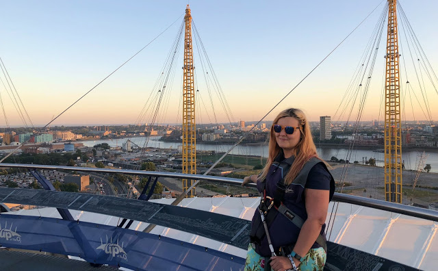 Urban Mountaineering with Up at the O2!