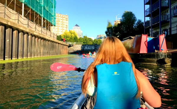 City Kayaking with Secret Adventures