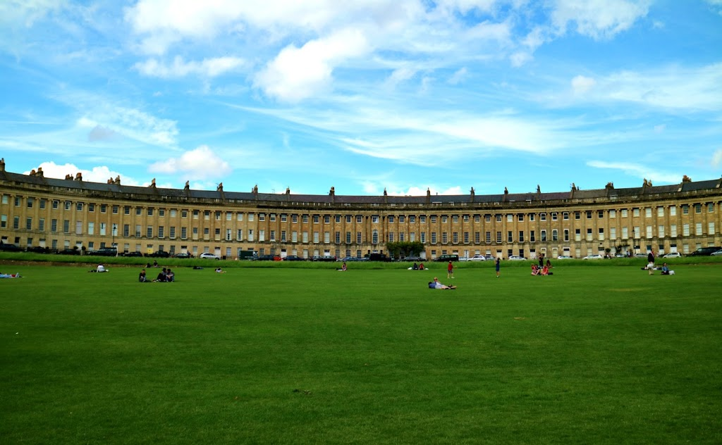 The green to spend a few hours in Bath
