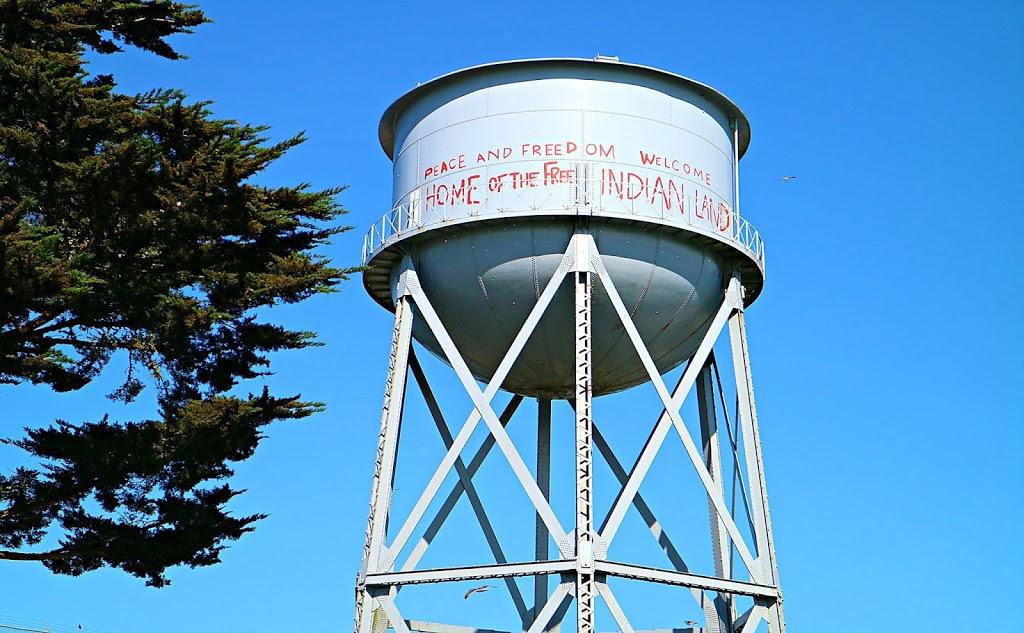 the tower of Alcatraz