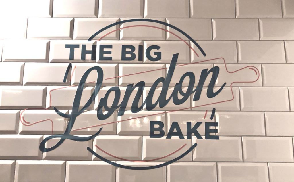 The Big London Bake Sign