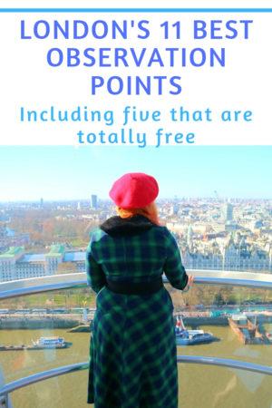 London's best observation points pinterest pin