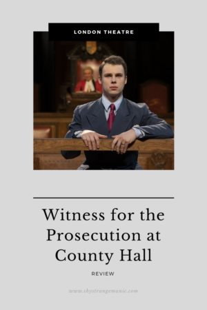 Witness for the Prosecution Pinterest