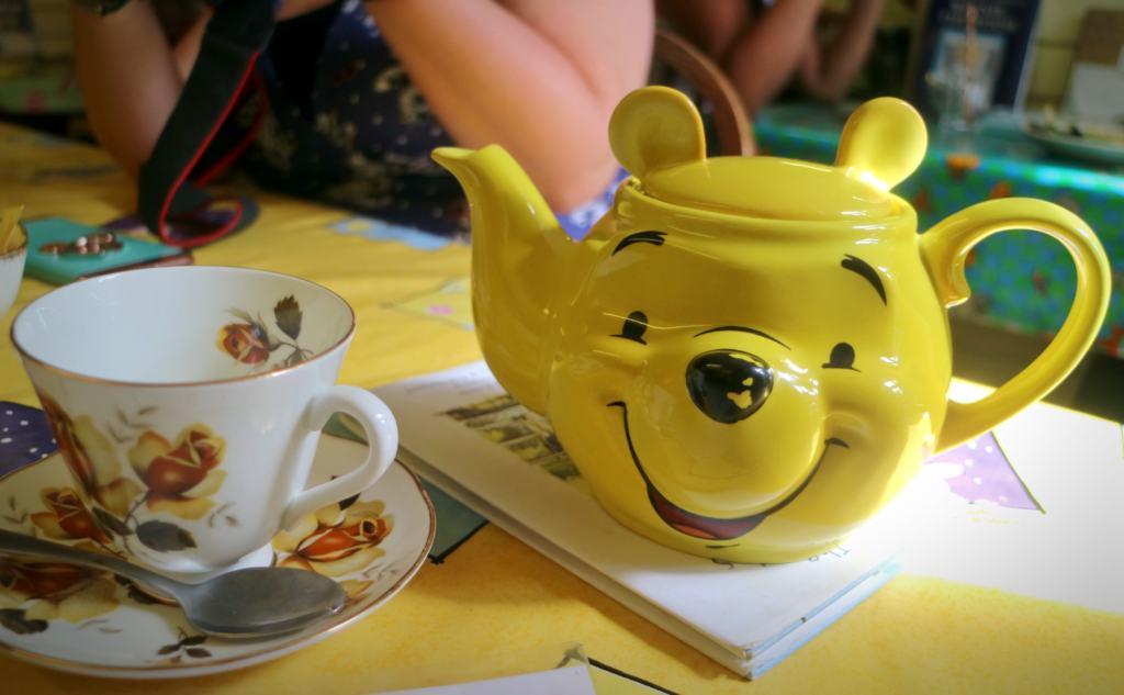 winnie the pooh shaped teapot