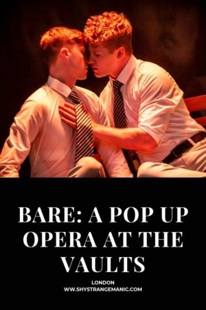 Bare: A Pop Up Opera at The Vaults pinterest